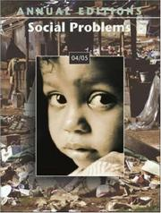 Cover of: Annual Editions: Social Problems 04/05