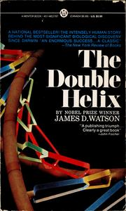 Cover of: The double helix by James D. Watson