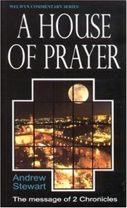 Cover of: A House of Prayer