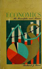 Cover of: Economics | Richard Joseph Ward