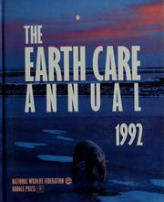 Cover of: The Earth care annual, 1992 | Russell Wild