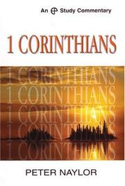 Cover of: 1 Corinthians (Ep Study Commmentary Series) | Peter Naylor