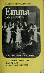 Cover of: Emma | Jane Austen