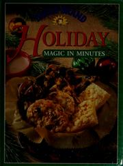 Cover of: Eagle Brand holiday magic in minutes | Eagle Family Foods