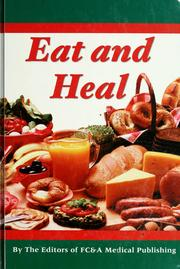 Cover of: Eat and heal | Frank W. Cawood and Associates
