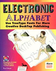 Cover of: Electronic alphabet | Bernd Salewski