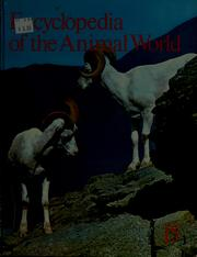 Cover of: Encyclopedia of the animal world |