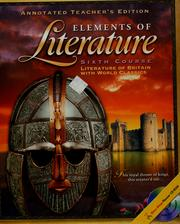 Cover of: Elements of literature | Robert E. Probst