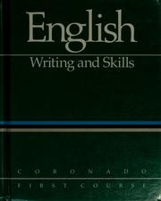 Cover of: English by W. Ross Winterowd