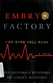 Cover of: Embryo factory | Richard A. Humphrey