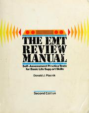 Cover of: The EMT review manual by Donald J. Ptacnik