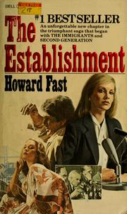 Cover of: The establishment | Howard Fast