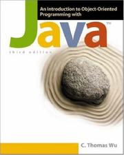 Cover of: An Introduction to Object-Oriented Programming with Java OLC Bi-Card | C. Thomas Wu