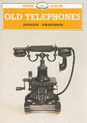 Cover of: Old Telephones