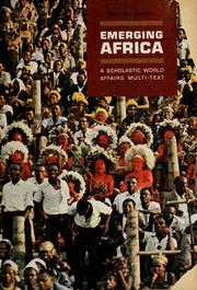 Cover of: Emerging Africa | Charles Rhind Joy