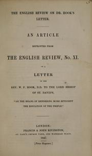 Cover of: The English review on Dr. Hook