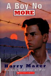 Cover of: A boy no more | Harry Mazer