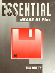 Essential dBase III plus