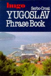 Cover of: Serbo-Croat Phrase Books (Hugo)