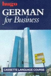 Cover of: German for Business/Book and Audio Cassettes (Business Courses)