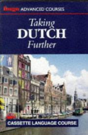 Cover of: Taking Dutch Further