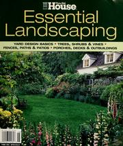 Cover of: Essential landscaping |