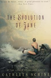 Cover of: The evolution of Jane | Cathleen Schine