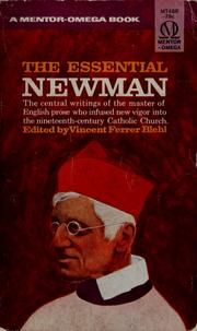 Cover of: The essential Newman