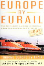 Cover of: Europe by Eurail 2005 | LaVerne Ferguson-Kosinski