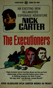 Cover of: The executioners | Nick Carter