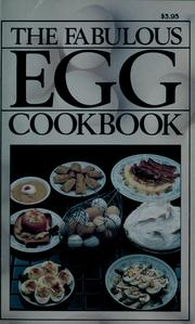 Cover of: The fabulous egg cookbook by Jeffrey Feinman