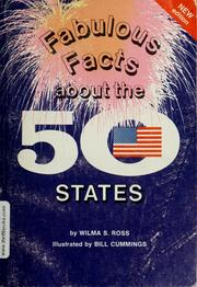 Cover of: Fabulous facts about 50 states | Wilma S. Ross