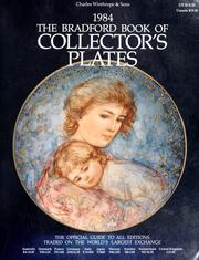 Cover of: The Bradford book of collector's plates 1984 |