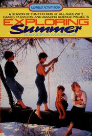 Cover of: Exploring summer | Sandra Markle