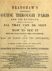 Cover of: Bradshaw's illustrated guide through Paris and its environs by