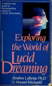 Lucid dreaming stephen laberge