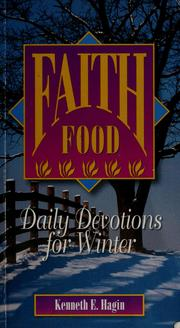 Cover of: Faith food | Kenneth E. Hagin