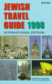 Cover of: Jewish Travel Guide 1998