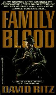 Cover of: Family blood | David Ritz