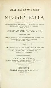 Cover of: Every man his own guide at Niagara Falls | F. H. Johnson
