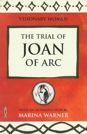 Cover of: The Trial of Joan of Arc (Visionary Women)