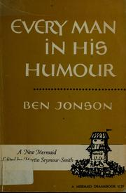 Cover of: Every man in his humour