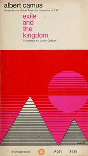 Cover of: Exile and the kingdom | Albert Camus