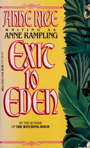 Cover of: Exit to Eden | Anne Rice