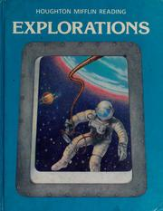 Cover of: Explorations |
