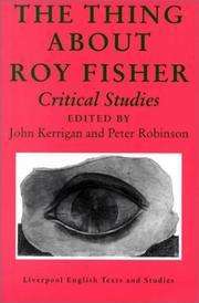 Cover of: Thing About Roy Fisher |