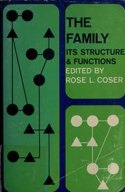 Cover of: The family | Rose Laub Coser