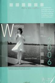 Cover of: Bravo! Wedding Resource Guide |
