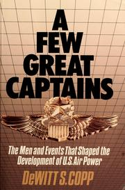 Cover of: A few great captains | DeWitt S. Copp