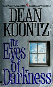 Cover of: The eyes of darkness | Dean Koontz